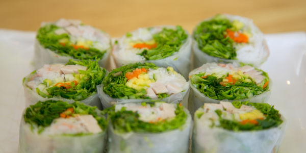 Mint Garden Healthy Fresh Rolls